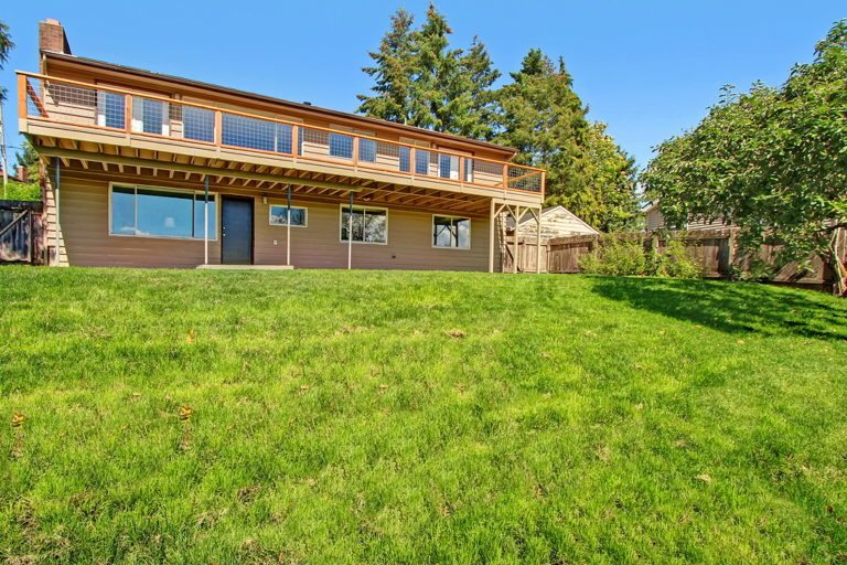 Mid Century Modern Home For Sale In South Seattle