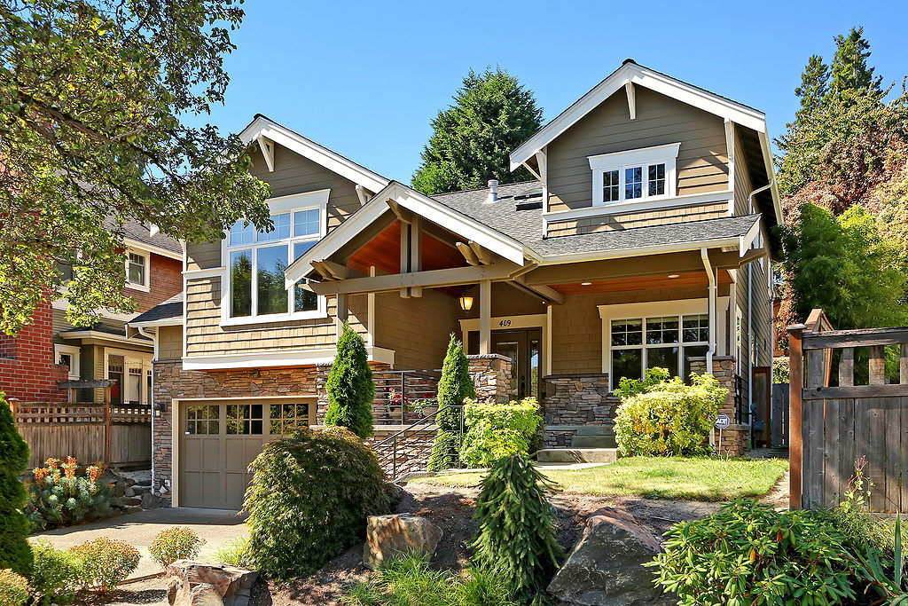 Grand Craftsman Home In Madrona In Seattle Seattle Dream