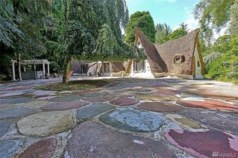 Unusual Fairy Tale home for sale in seattle area