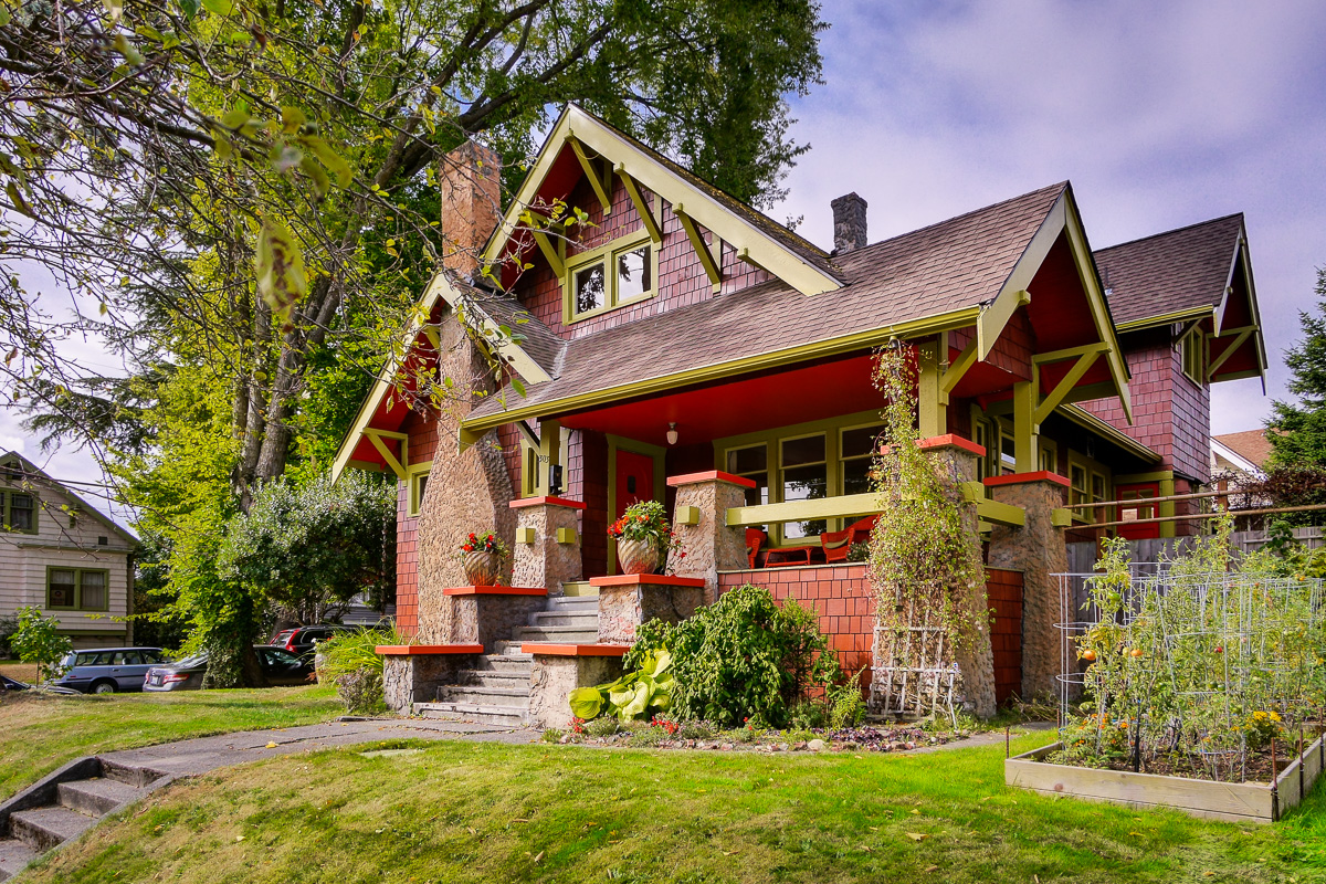 Vintage Craftsman Home For Sale In Seattle Seattle Dream