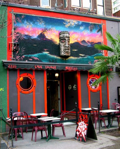 Lava Lounge Mural by Joe Nix