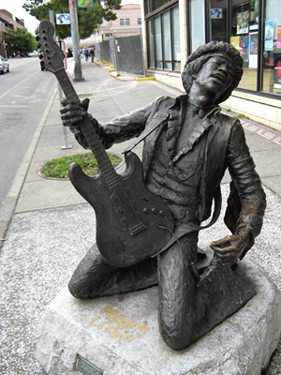 Jimi Hendrix, Seattle