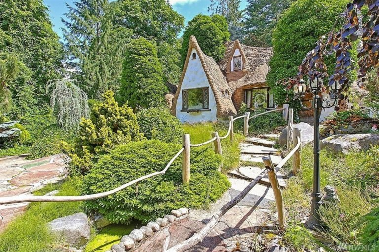 Seattle king county unusual fairy tale home
