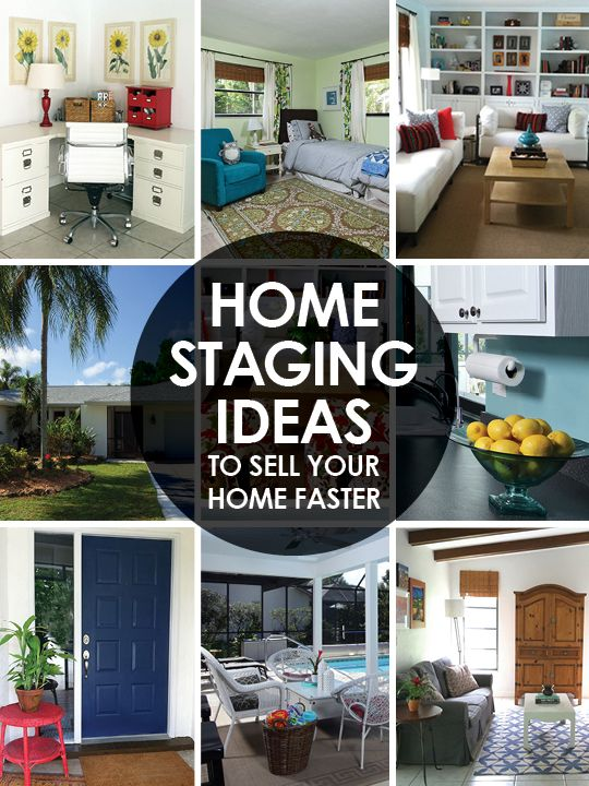 Home ideas to stage your home and have it sell faster